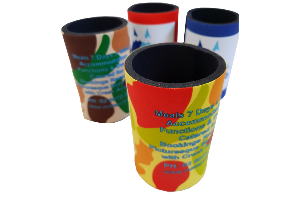 Stubby Holders at Sunrise Products Albury