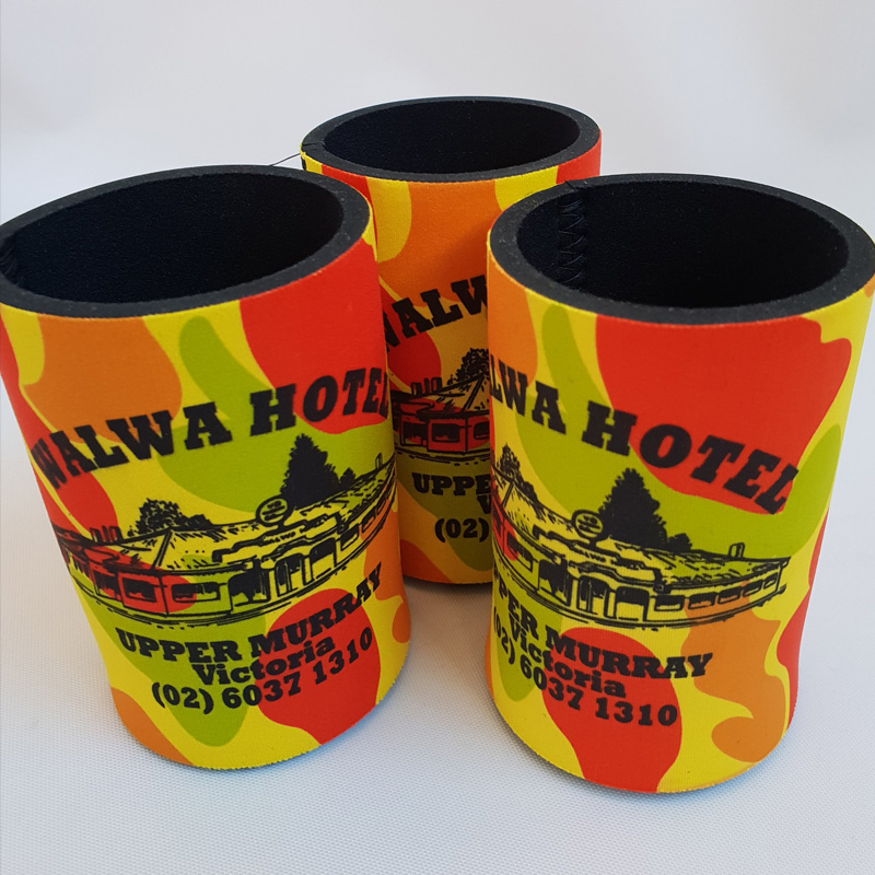 Sunrise Products offers Custom Made Stubby Holders