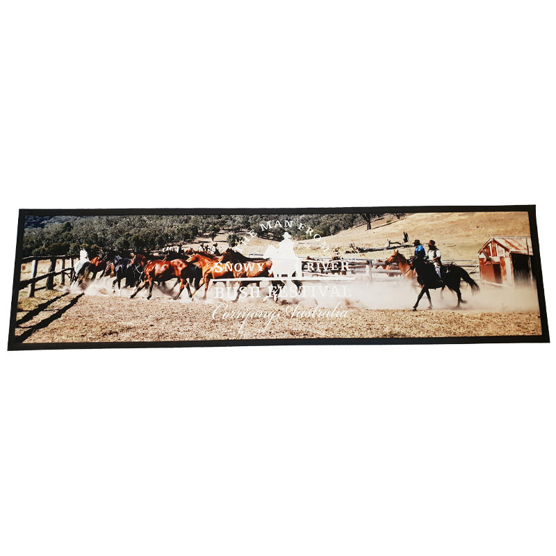 Sunrise Products offers Custom Made Bar Runners
