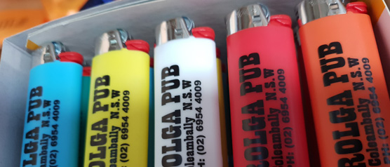 Lighters at Sunrise Products Albury